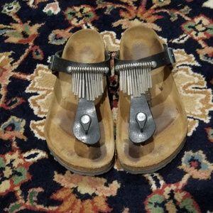 Gizeh Fringe Birkenstock sandals